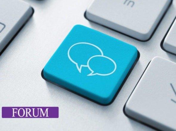 Кнопка форума
