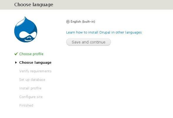 язык - английский