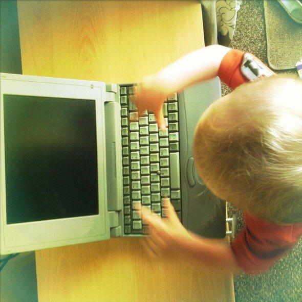 Маленький блоггер