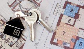 Ключи от квартиры и план дома
