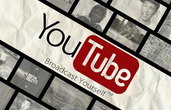 Коллаж из видеороликов YouTube