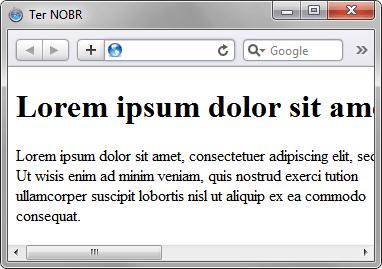 использование в html тега nobr