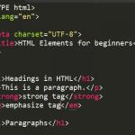 Абзац в html