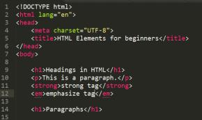 тег абзаца в HTML